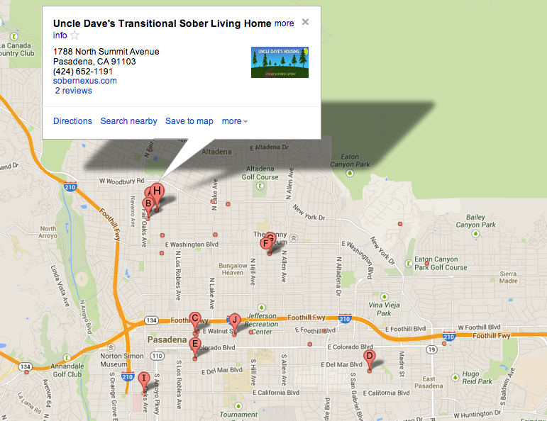 Sober Living Rehabilitation center pasadena