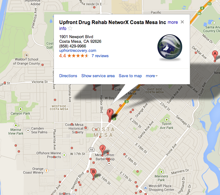 Upfront alcohol Rehab NetworX Costa Mesa Inc