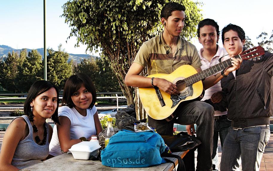 teens rehab guitar