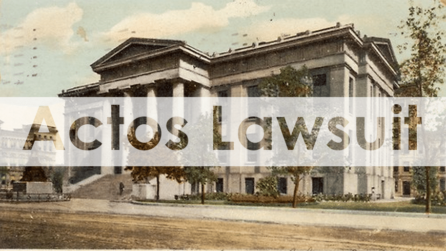 Actos Lawsuit